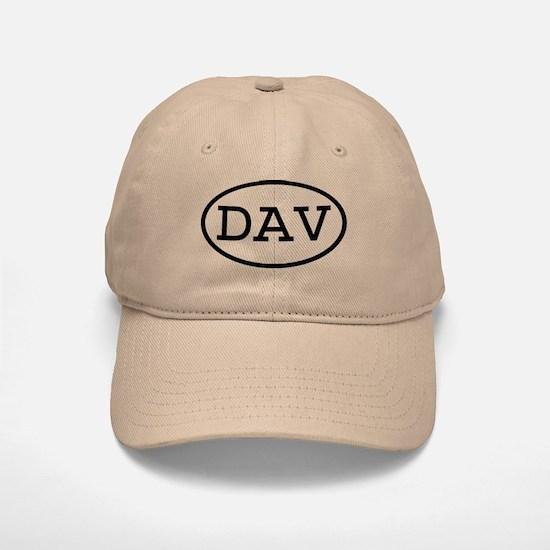 DAV Oval Baseball Baseball Cap