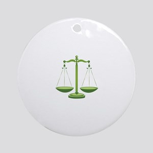 Scales Ornament (Round)
