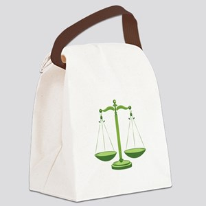 Scales Canvas Lunch Bag