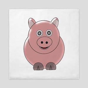 Pig3 Queen Duvet