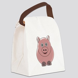 Pig3 Canvas Lunch Bag
