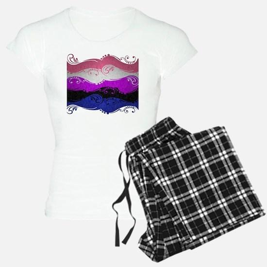 Gender Fluid Ornamental Fla Pajamas