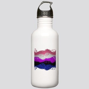 Gender Fluid Ornamenta Stainless Water Bottle 1.0L