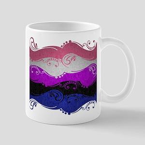 Gender Fluid Ornamental Flag Mug