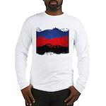 Polyamorous Ornamental Flag Long Sleeve T-Shirt