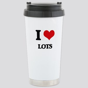 I Love Lots Stainless Steel Travel Mug