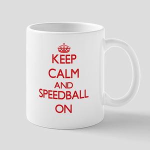 Keep calm and Speedball ON Mugs