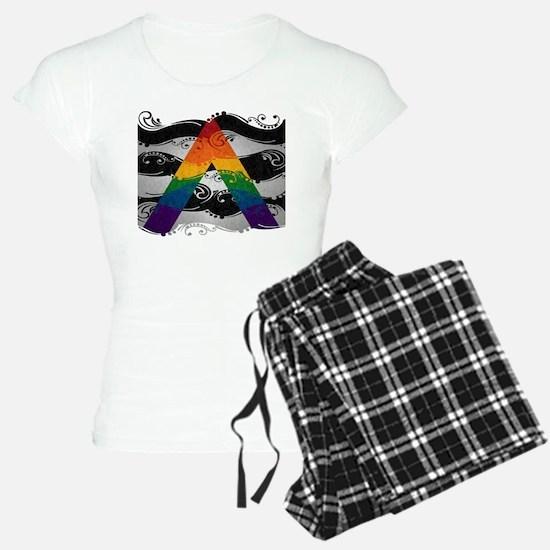 LGBT Ally Ornamental Flag Pajamas