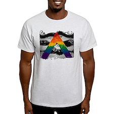 LGBT Ally Ornamental Flag T-Shirt