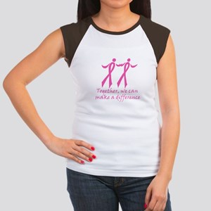 Make a Difference Together Women's Cap Sleeve T-Sh