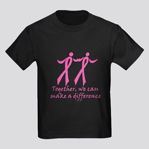 Make a Difference Together Kids Dark T-Shirt