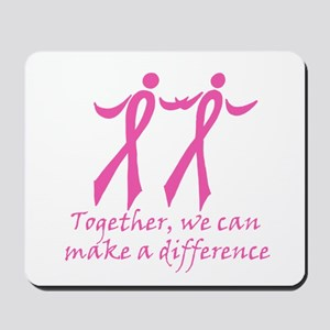 Make a Difference Together Mousepad