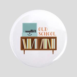 "Old School 3.5"" Button"