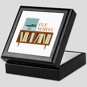Old School Keepsake Box
