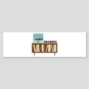 Records Bumper Sticker