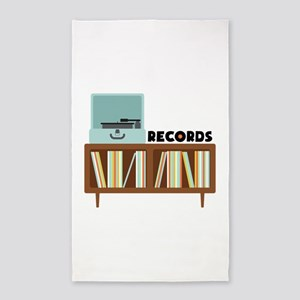Records Area Rug