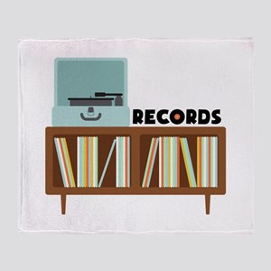 Records Throw Blanket