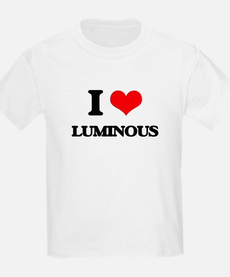 I Love Luminous T-Shirt
