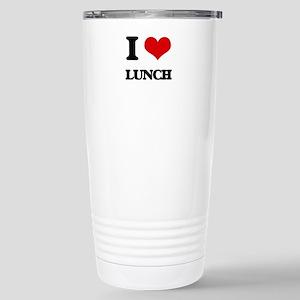 I Love Lunch Stainless Steel Travel Mug