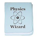 Physics Wizard baby blanket
