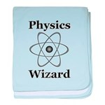 Physics Wizard baby blanket