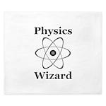 Physics Wizard King Duvet