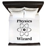 Physics Wizard King Duvet