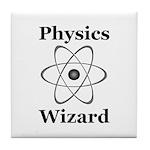 Physics Wizard Tile Coaster