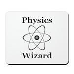 Physics Wizard Mousepad