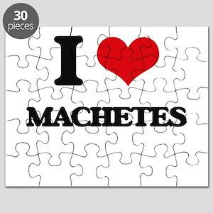 I Love Machetes Puzzle