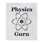 Physics Guru Throw Blanket
