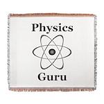 Physics Guru Woven Blanket