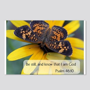 Bible Verses Psalm 46:10 Postcards (Package of 8)