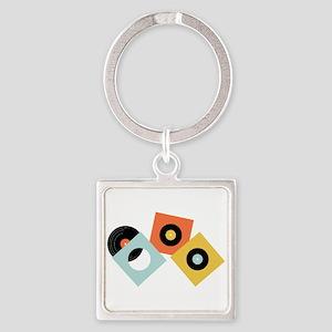 Vinyl Records Keychains
