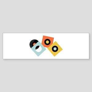 Vinyl Records Bumper Sticker