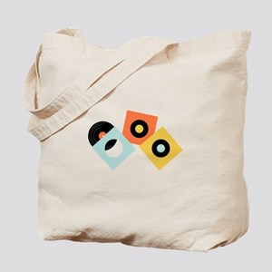 Vinyl Records Tote Bag