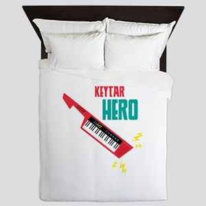 Keytar Hero Queen Duvet