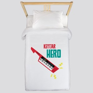 Keytar Hero Twin Duvet