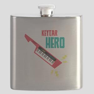 Keytar Hero Flask