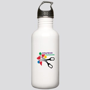 Scrapbook Professional Water Bottle