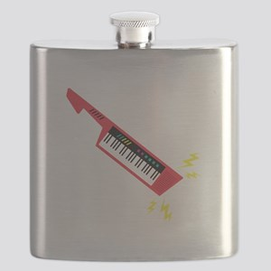 Electric Keyboard Flask
