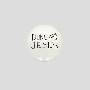 BONG HITS 4 JESUS Mini Button (10 pack)