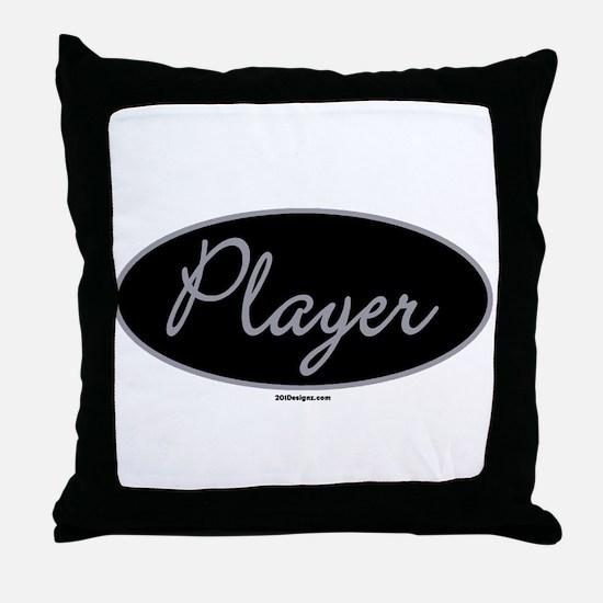 Player Throw Pillow