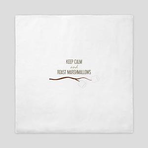 Keep Calm Marshmallows Queen Duvet