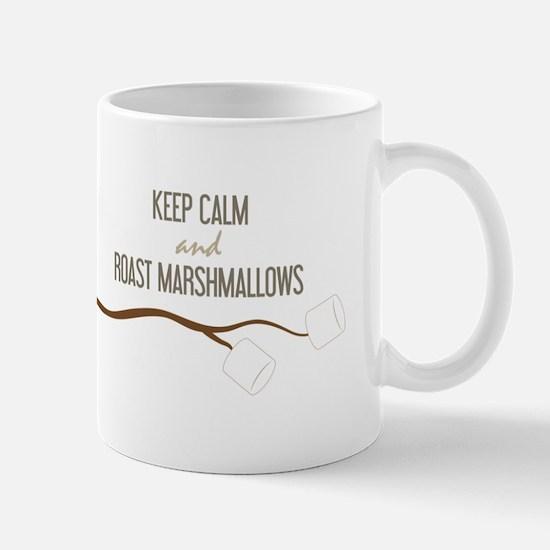 Keep Calm Marshmallows Mugs