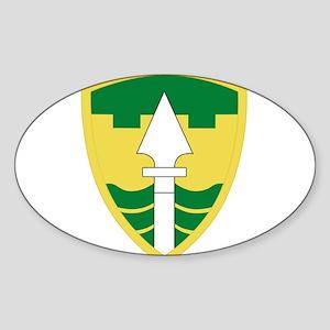 43rd military pdice Brigade Sticker