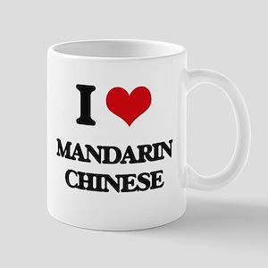 I Love Mandarin Chinese Mugs