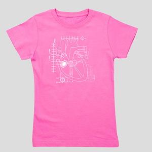 Heart blueprint Girl's Tee