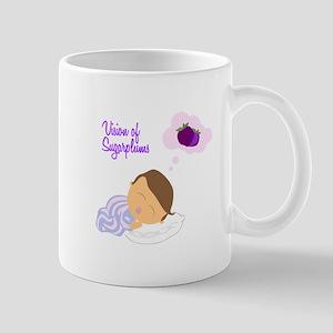 Vision of Sugarplums Mugs