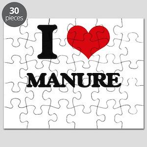 I Love Manure Puzzle